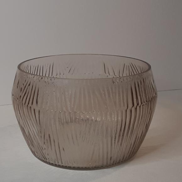Set of 2 - Threshold Textured Glass Bowls